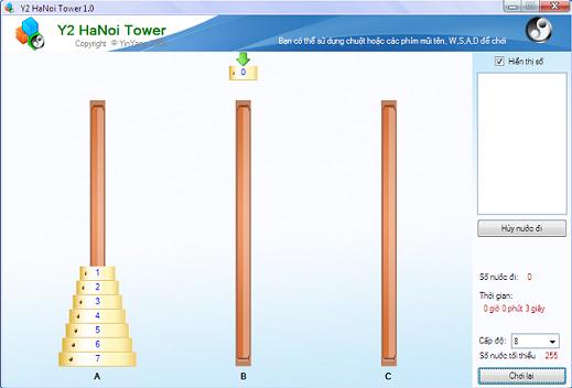 Y2 Hanoi Tower 1.0