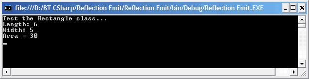 Reflection Emit - Test
