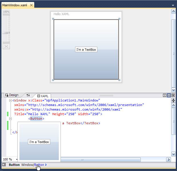 WPF – Cơ bản về XAML trong WPF 4 (Part 1 of 2)