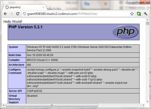 Coderun Online Ide Cho C C D N Web C Php Javascript