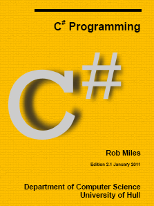 Ebook – Rob Miles C# Yellow Book 2010 [PDF]