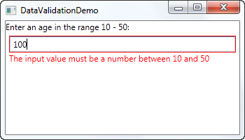 WPF – Tạo Custom Validation Rule