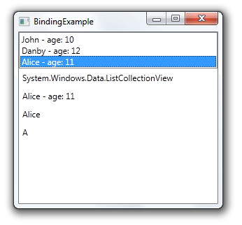 WPF - Binding and Data Collection: Sorting, Filtering, Grouping