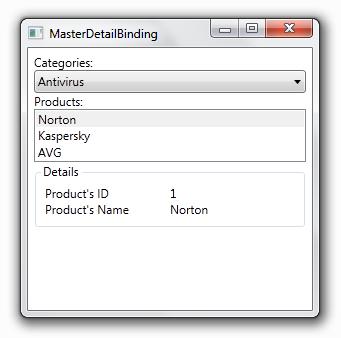 WPF - Master-Detail Binding
