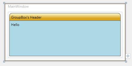 WPF - ContentPresenter - Custom GroupBox