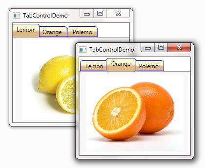 WPF – Tùy biếnTabControl