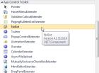 AjaxControlToolkit Toolbox Items