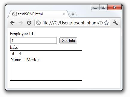 Javascript – Tạo script động và kĩ thuậtJSONP