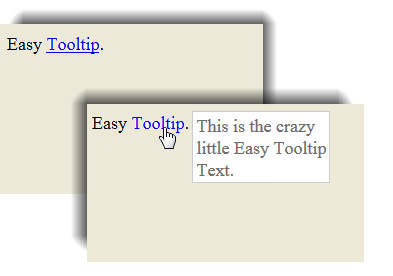 jQuery - Tooltip Effects move mouse
