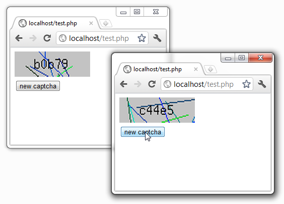 PHP Simple captcha