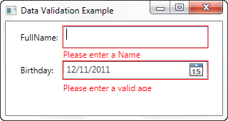 WPF - Data Validation - IDataErrorInfo