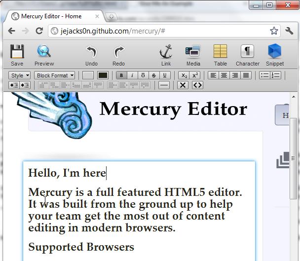 HTML – Thuộc tính DesignMode vàContentEditable