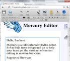 Mercury Editor - HTML 5