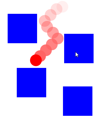 HTML5 - Canvas - Bouncing ball 2