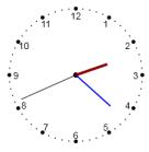 Canvas - Simple Analog Clock