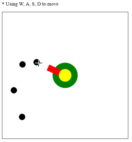 HMML5 - Canvas - Demo Tank Game