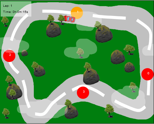 Html5 - Canvas - Racing Game