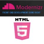 Modernizr Html5 logo