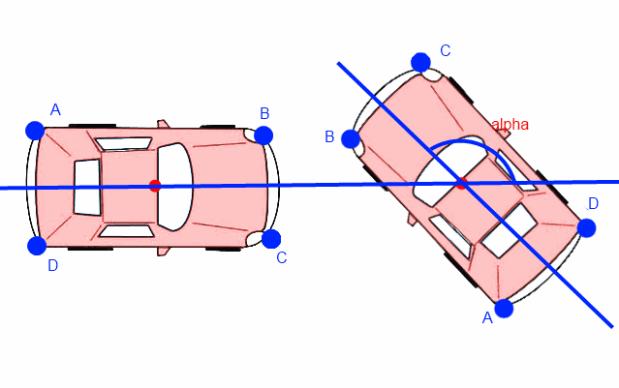 rotate car