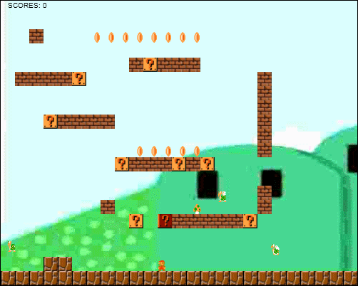 HTML5-Canvas: Viết game Mario – Part 3