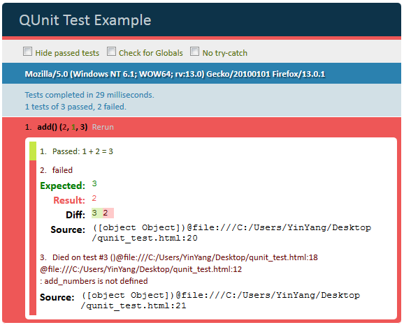 QUnit Test Example 2